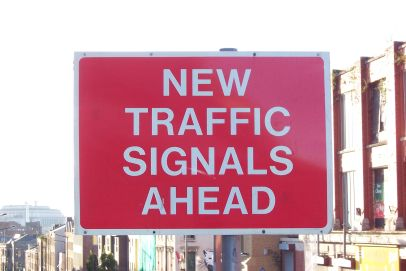 New traffic signals ahead